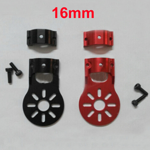 Image 3 - 4PCS 12mm 16mm Motor Fixture Mount Fixed Base Seat Holder Bracket for Carbon Tube RC Quadcopter Multicopter Drone Spare Parts