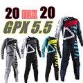 2020 GPX 5.5 موتوكروس مجموعة تروس 4 ألوان MX موتو أطقم ATV الترابية دراجة جيرسي و بانت سوبركروس إندورو جيرسي مجموعة