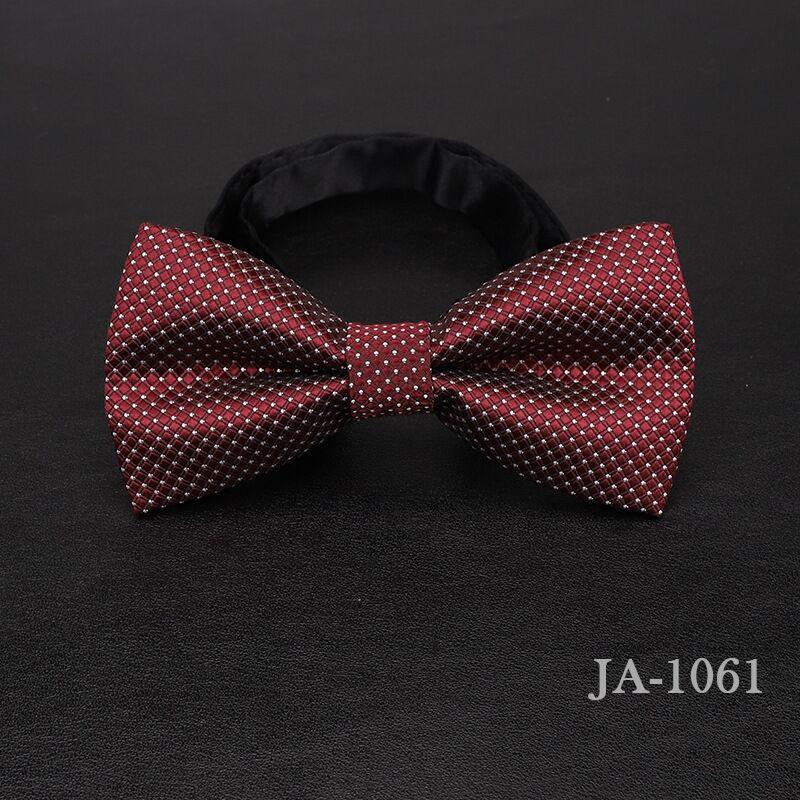 Дизайнерский галстук-бабочка, высокое качество, мода, мужская рубашка, аксессуары, темно-синий, в горошек, галстук-бабочка для свадьбы, для мужчин,, вечерние, деловые, официальные - Цвет: 1061