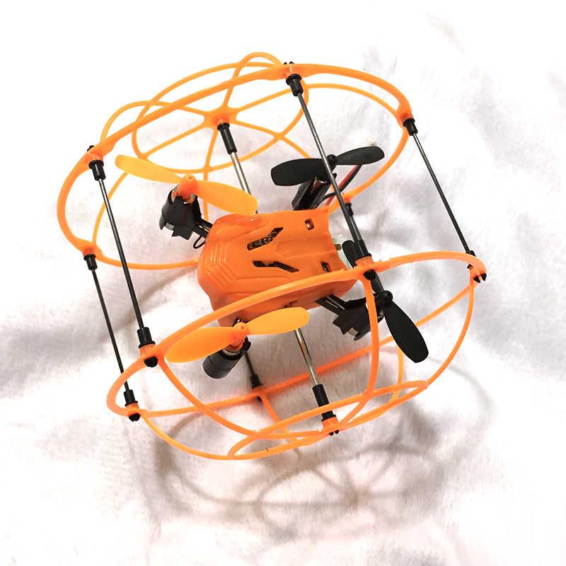 Helic 最大 radico 1336 ミニドローンボール 2.4 2.4ghz 4CH フライボール rc quadcopter 3D フリップローラーヘッドレスドローン rc ヘリコプターのおもちゃ