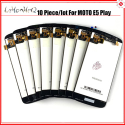 10 Piece/lot 100% test E5 Play Lcds For Moto E5 PLAY XT1920 LCD For Moto E5 PLAY LCD Display Screen Touch Digitizer Assembly