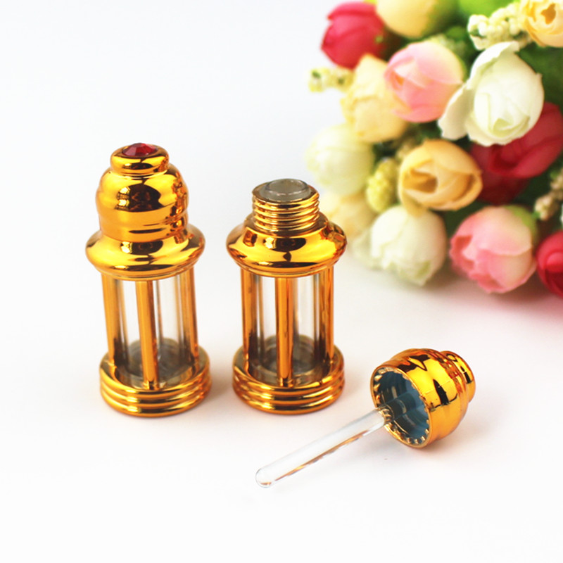 20pcs/lot 3ml Glass Dropper Bottle With Glass Stick Essential Oil Display Vials Small Perfume Sample Test Bottle
