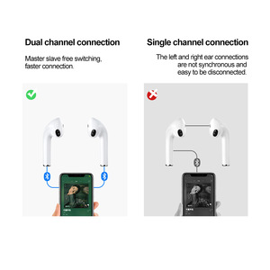 Image 3 - Lenovo X9 Bluetooth 5.0 True Wireless Headphones TWS Earbuds Touch Control Sport Headset Sweatproof In ear Earphones with Mic
