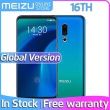 Официальная глобальная версия Meizu 16th 16 ГБ, 6 ГБ, 64 ГБ, Восьмиядерный процессор Snapdragon 845, 6,0 '', 2160x1080 P, передняя панель, МП, встроенный экран, отпечаток пальца