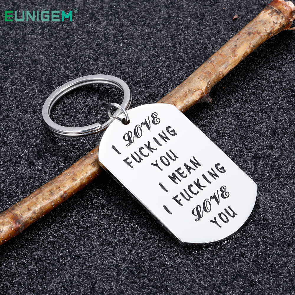 Valentines Day Gifts Couple Keychain For Girlfriend Boyfriend Wife Husband Anniversary Wedding Gifts I Love You Gift For Lovers