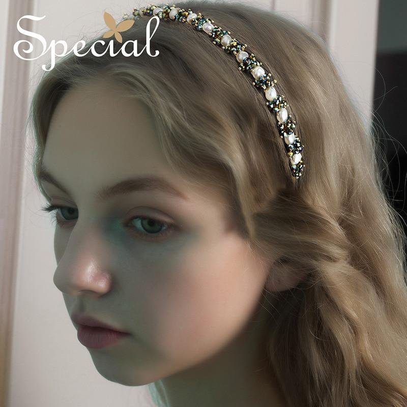 SPECIAL vintage handmade hairpin temperament hair accessories anti slip headband female Elizabeth feelings 2019 fashion trend