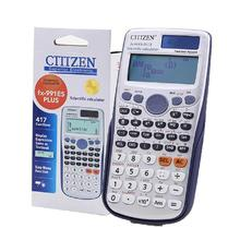 Handheld Student s Scientific Calculator 991es Plus Led Display Pocket Multifunction Calculator For Teaching Calculating Tool