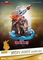15 CM D Select Marvel Iron Man MK42 Avengers Iron Spider Man Iron Man MARK XL II Bleeding Edge Armor Action Figure Toys