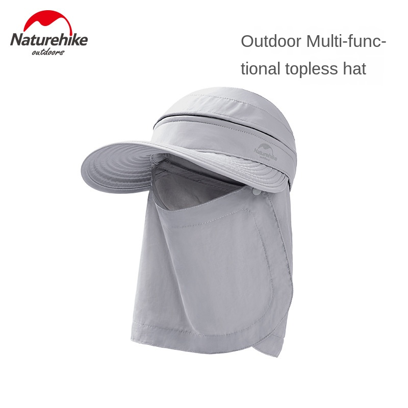 Naturehike Outdoor Multifunctional Empty Top Hat Camping Hiking Fishing Sun Hat Portable Sun Hat