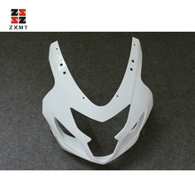 ZXMT Unpainted Upper Front Fairing Cowl Nose For Suzuki GSXR600 GSXR750 K4 2004 2005 ABS Injection