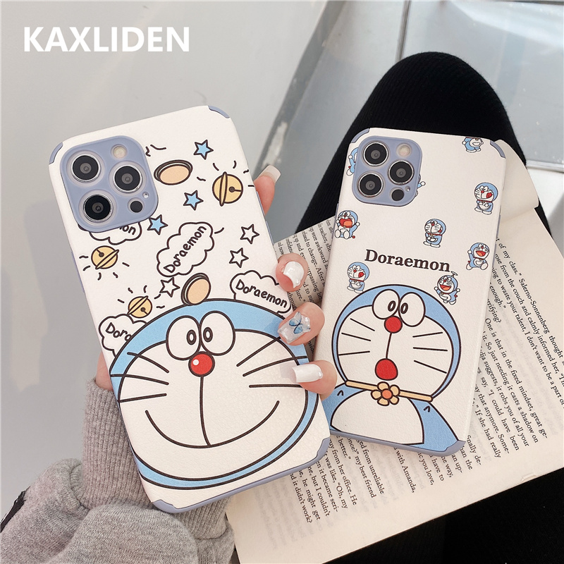 Relief Cute Cartoon Pattern Phone Case For iphone 12 mini 11 Pro Max 7 8 plus X XR XS Max SE 2020 Leather Back Cover Soft Cases