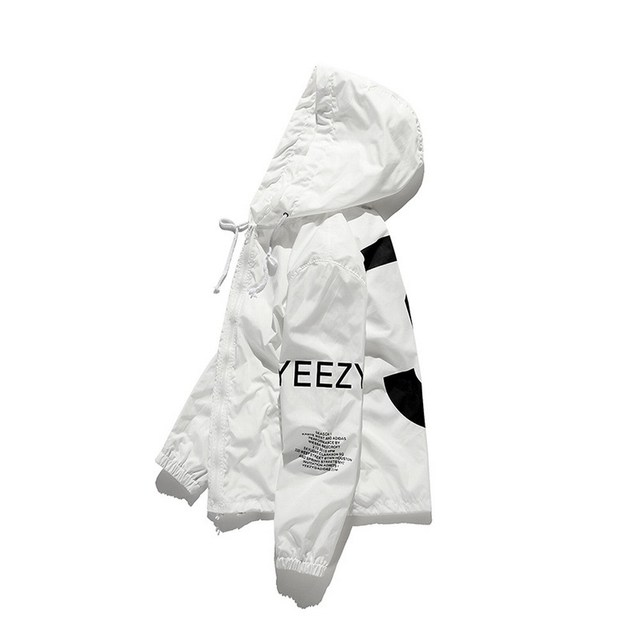 2021 Spring Kanye West Y3 Men's Windbreaker Jacket Outdoor Hooded Bomber Jacket Men Harajuku Hip Hop Streetwear Coats Outwear 3