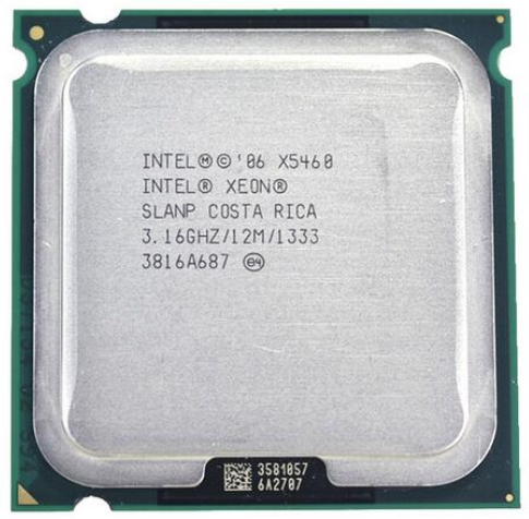 INTEL Xeon X5460 LGA 775 Processor (3.16GHz/12MB/1333MHz/LGA771) 771 To 775 CPU Work On 775 Motherboard