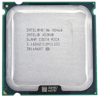 Процессор INTEL xeon X5460 LGA 775 (3,16 ГГц/12 МБ/1333 МГц/LGA771) Процессор 771-775 работает на материнской плате 775