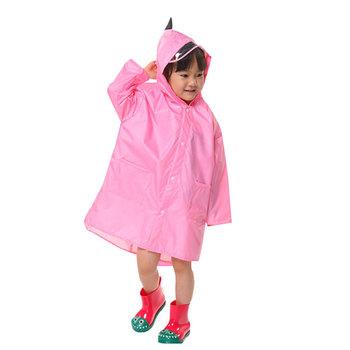 Gorący sprzedawanie dzieci dziecięcy płaszczyk przeciwdeszczowy wodoodporny z kapturem kreskówka w stylu dinozaura dla chłopców tanie i dobre opinie Swokii Pasuje prawda na wymiar weź swój normalny rozmiar Poliester Raincoat Bayer 125 00 Wodoodporna