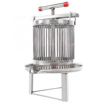 Manual honey press for household use, stainless steel wax press. Beekeeping tool. Multifunctional beekeeping equipment. Beekeepi недорого