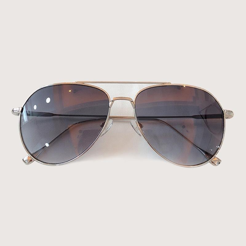 Retro Pilota Occhiali Da Sole Donne Degli Uomini di Modo Occhiali Da Sole Abbigliamento Accessori gafas de sol hombre - 5