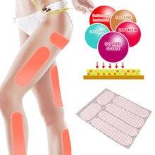 54/36/18Pc eficiente las piernas delgadas parches quema grasa perder peso yesos Natural de hierbas ingrediente menor parche delgado del cuerpo