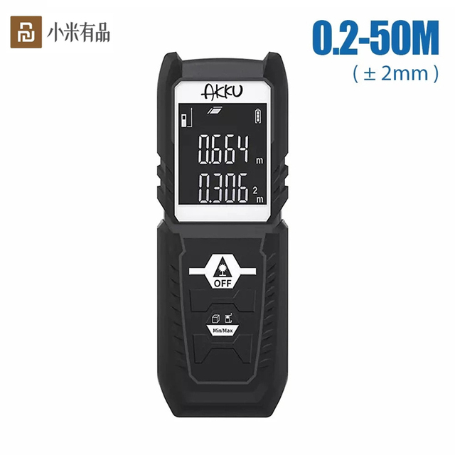 Youpin akku 40 メートルのレーザー距離計デジタルレーザー距離計バッテリ駆動レーザー範囲ファインダー距離計測員