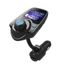 Car MP3 Player Handsfree Wireless Bluetooth FM Transmitter Car Kit MP3 Player USB LCD Modulator with Blue/Red Light все цены