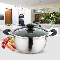 Vaporizador de Extra Alto de acero inoxidable, olla de inducción de alimentos para sopa y ollas, utensilios de cocina para el hogar