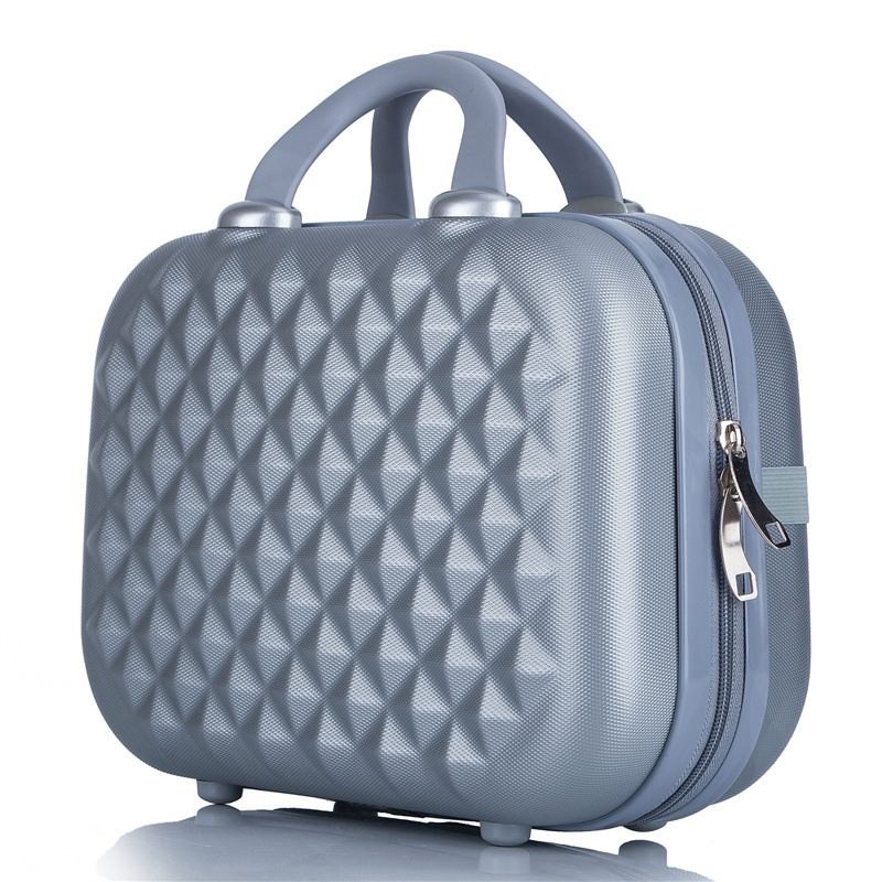 Professional Beauty ABS Cosmetic Case For Women Cosmetic Bag Organizer Travel Suitcase Makeup Case Women Makeup Box Bags 14 Inch