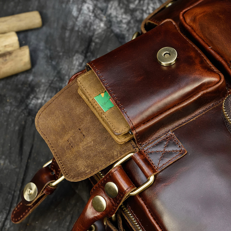 """H8b6c7feb9f55479ea40d7312860be2e6v MAHEU Men Briefcase Genuine Leather Laptop Bag 15.6"""" PC Doctor Lawyer Computer Bag Cowhide Male Briefcase Cow Leather Men Bag"""