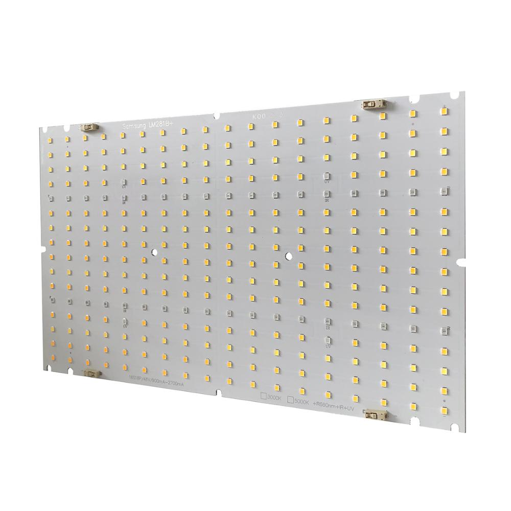 Free Shipping LED Grow light PCB Samsung lm281b+ LEDs with Red 660nm IR 730nm  UV 395nm led for indoor plants grow