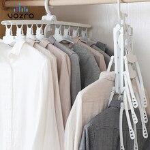 VOZRO colgador de ropa plegable, secador de secado de ropa, colgador de ropa para colgar en la ropa, soporte telescópico
