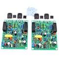 ABKT-2Pcs аудио усилитель плата Amplificador 100 Вт x 2 стерео двухканальный Quad405-2 усилитель мощности собранная плата