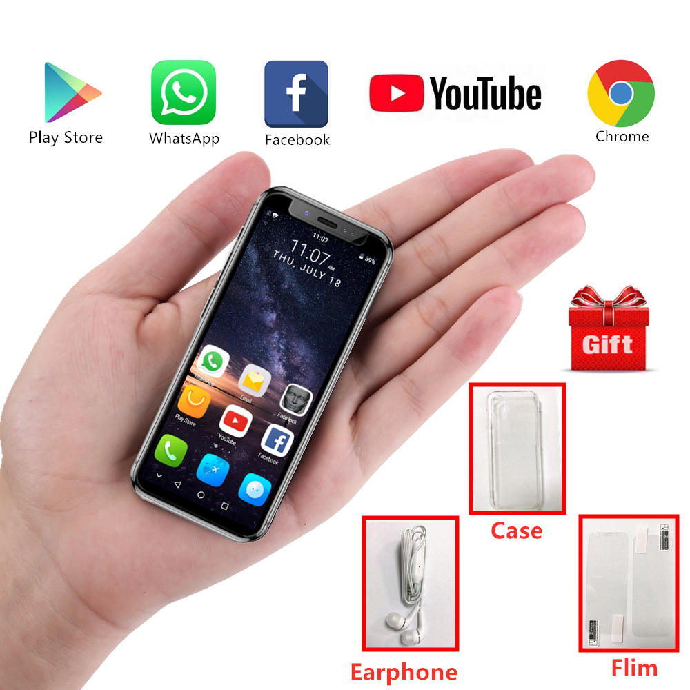 Super Mini Mobile phone K TOUCH I9S Android 8 1 MTK6580 16GB ROM Luxury Metal Frame