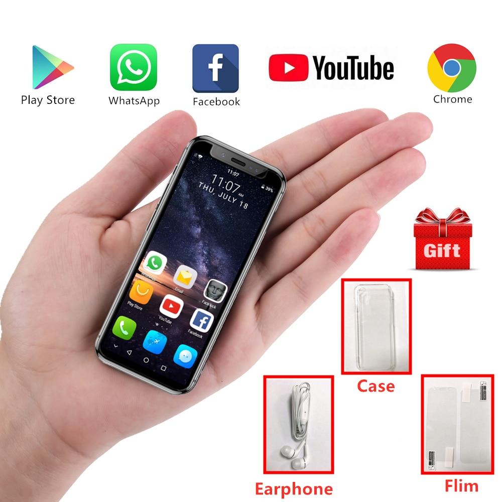 Super Mini teléfono móvil K TOUCH I9S Android 8,1 MTK6580 16GB ROM marco de Metal de lujo teléfono cara ID GPS WiFi estudiante Smartphone-in Los teléfonos móviles from Teléfonos celulares y telecomunicaciones on AliExpress - 11.11_Double 11_Singles' Day 1