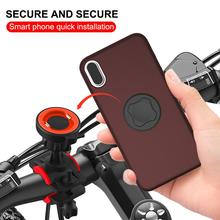 Universal GPS Bike Phone Holder Bicycle Stand Mount Motor Bracket Clip Motorcycle For Android iPhone