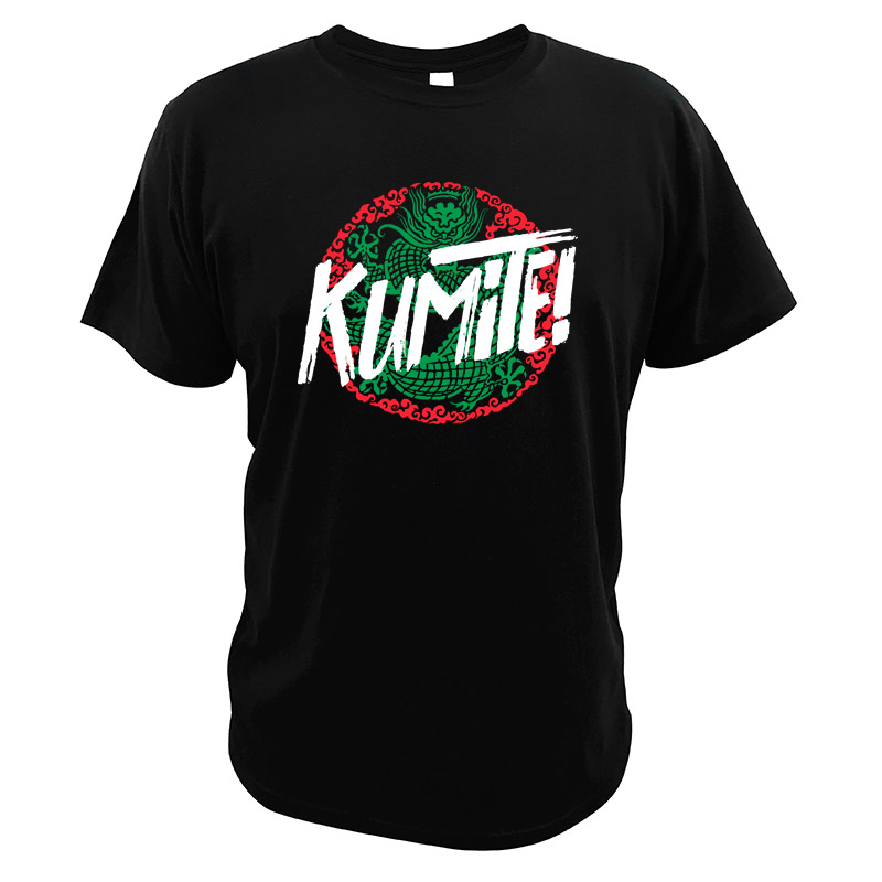 Kumite T shirt How Did This Get Made Bloodsports 100% Cotton EU Size Vintage Retro Cult Movie T-shirt image