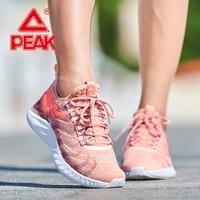 PEAK TAICHI Women Running Shoes Lightweight Cushion Sports Shoes Comfortable Casual Outdoor Sneakers TAICHI Couple Shoes