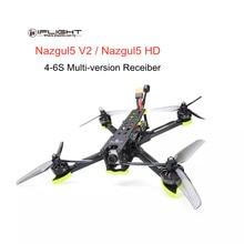 iFlight Nazgul5 V2 Nazgul5 HD 5-дюймовый 4-6S Фристайл RC FPV Гоночный Дрон w/ Камера Caddx Ratel и контроллер полета SucceX-E F4 RC вертолет квадрокоптер игрушки