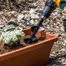 1PCS Earth Auger Hole Digger Tools Planting Machine Drill Bit Fence Borer Petrol Post Garden Tool