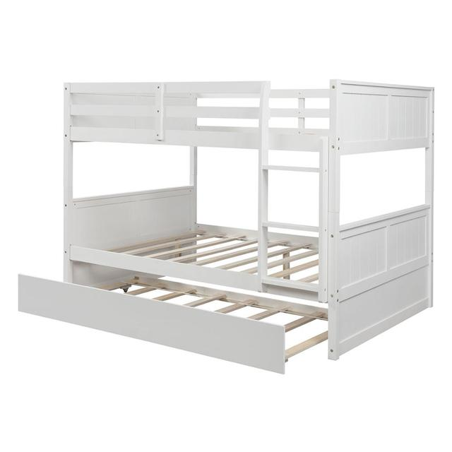 White Solid Pine Bunkbed 4
