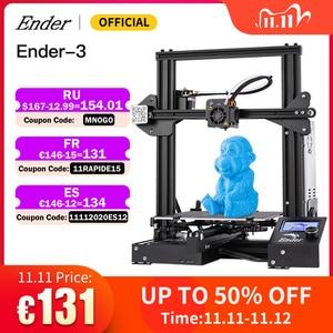 Image 1 - Ender 3/Ender3X 3D Printer Kit Large Size Printer 3D Continuation Print Power Magnetic Plate Option Creality 3D