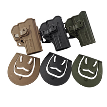 Tactical Gun Holster Concealmen Pistol Holster for Sig Sauer Pro SP2022 SP2009 P220 Right Airsoft Hunting Waist Paddle Belt Case tactical gun carry military combat sig sauer p226 pistol leg holster hunting equipment right hand pistol thigh holster 3 colors