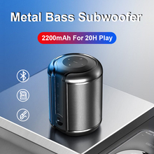 Mini Portable Bluetooth Speaker Wireless Bass Column Waterproof Outdoor Speaker Support AUX TF USB Subwoofer Stereo Loudspeaker wireless bluetooth speaker sc208 computer mini dual speaker portable small stereo car subwoofer support tf card usb disk