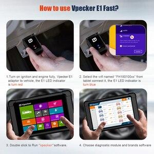 Image 5 - VPECKER Easydiag WiFi מקצועי OBD2 רכב סורק Tablet ABS SRS איפוס שמן DPF רכב אבחון כלי OBD2 WIFI סורק