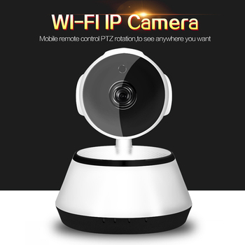 Baby Monitor Portable WiFi IP Camera 720P HD Wireless Smart Baby Camera Audio Video Record Surveillance Home Security Camera image