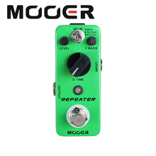 цена на MOOER Repeater Digital Delay Pedal 3 Working Modes: Mod/Normal/Kill Dry Guitar effect pedal