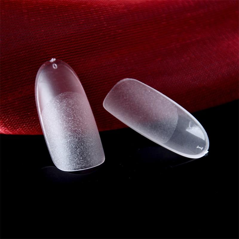 Oval manicure pontas de dedo ultra fino