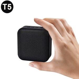 Image 2 - Altavoz portátil T5 inalámbrico por Bluetooth 4,2, Mini columna de altavoz con tarjeta TF y radio FM para exteriores