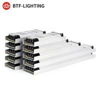 Fuente de alimentación de luz LED ultradelgada, adaptador de transformador, AC190V, 100 V, controlador FCOB, WS2815, DC12V, 24V, 60W, 150W, 200W, 300W, 240 W
