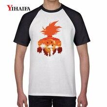 Mens T Shirts 3D Dragon Ball Z Galaxy Goku Graphic Tees Anime Tee Tops Casual Unisex dragon ball T-shirt