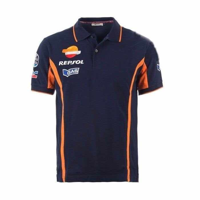Motorfiets Racing Repsol Voor honda Polo Shirt Motorbike Motocross Sport T-shirts Jersey off-road mode team kleding