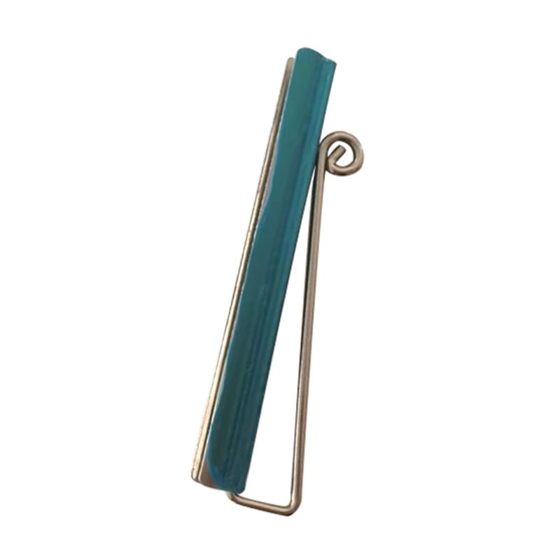 Durable Bifold Money Clip Nickel Plated Wallet Check Cash Holder DIY Tool Parts